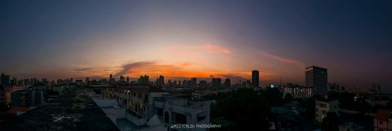 Panorama sunset | Bangkok