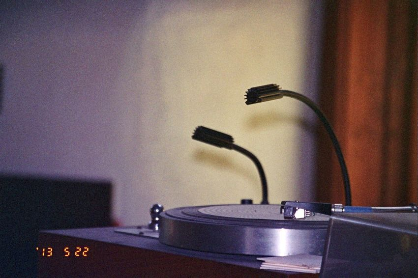 Date Stamp Sound Recording Equipment Turntable Close-up Musical Instrument Record Player Needle 2013 Olympus Koduckgirl Film Carmel Highlands