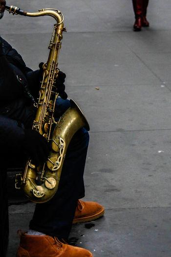 Adult Japan Jazz Music Manhattan Jazz Music Musical Instrument Musician New Yokr New York Jazz Outdoors People Saxophone Saxophonist The City Light