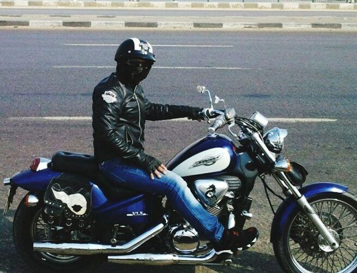 Biker Shadow Roar