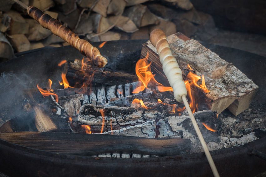 Close Up of Stick bread on a fire pit in a cozy place Bread Burning Camp Fire Campfire Close-up Cozy Cozy Place Day Daylight Daylight Photography Fire Pit Flame Flames Flames & Fire Heat - Temperature Homemade Homemade Food No People Outdoors Stick Bread