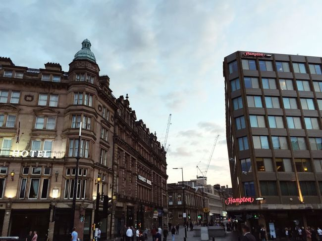 Building Exterior Architecture Built Structure Large Group Of People Sky Newcastle Upon Tyne Newcastle City Real People Men City Life Outdoors Travel Destinations Women Day Crowd People Adult
