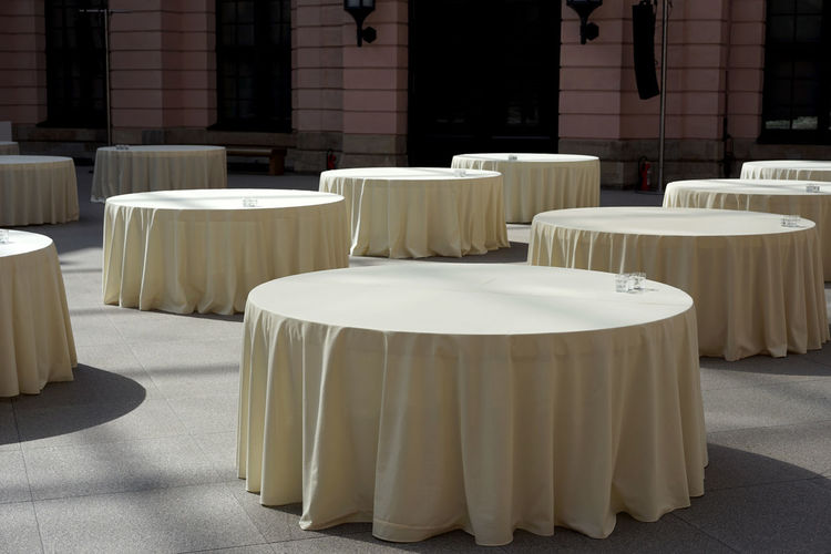 Art Photography Berlin Halloween Reception Hall Absence Architecture Arrangement Museum No People Still Life Table Tablecloth