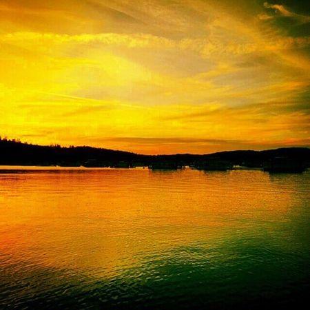 Sunset Lake Oroville California