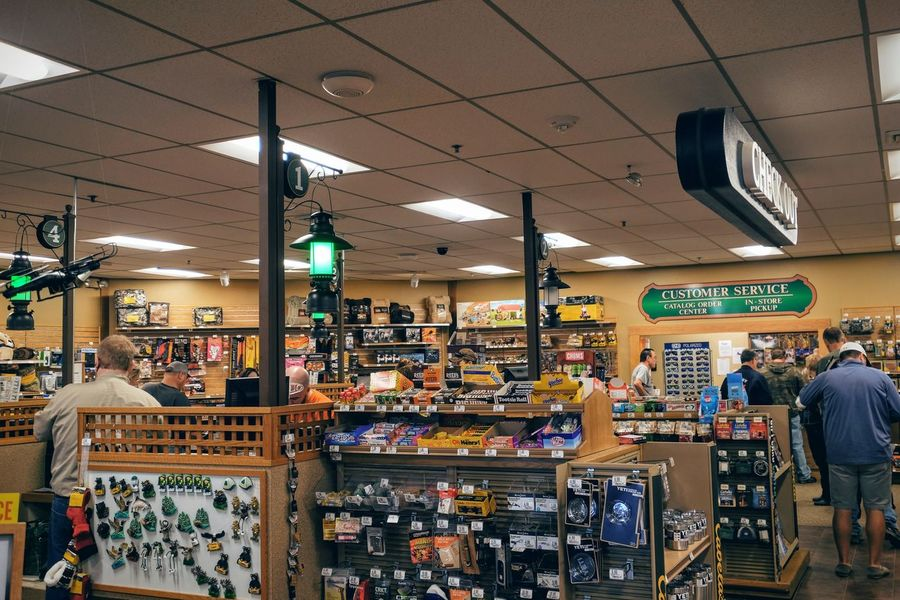 Photo essay - A day in the life. Cabela's Outfitters Kearney, Nebraska November 6, 2016 A Day In The Life Americans Business Finance And Industry Buying Cabela's Camera Work Economy EyeEm Gallery Hunting Season Illuminated Indoors  Middle America Nebraska Outfitter Photo Diary Photo Essay Retail  Retail Store Shopping Sporting Goods Shop Store Storytelling Travel Photography Visual Journal Weekend