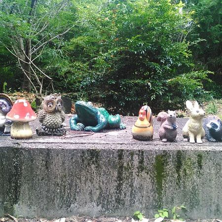 秘密の公園 動物 大津