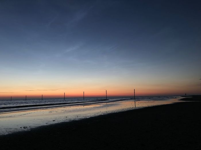 Das Licht der Nordsee Nordsee Sankt Peter-Ording Sky Water Sea Scenics - Nature Beach Sunset Land Nature No People Horizon Cloud - Sky Low Tide Sand Outdoors Beauty In Nature Horizon Over Water Idyllic Tranquil Scene Tranquility