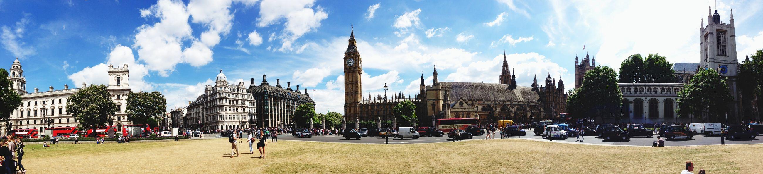 Big Ben London Tour Panorama