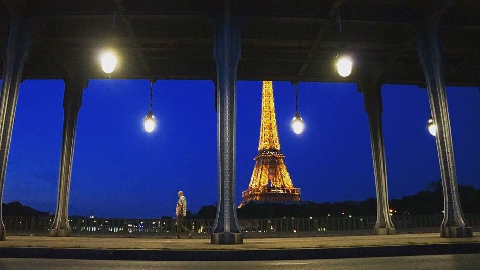 Eiffel Tower Eiffeltower France Night Night Lights Night Photography Night View Nightphotography Paris Paris, France  Pont De Bir-hakeim