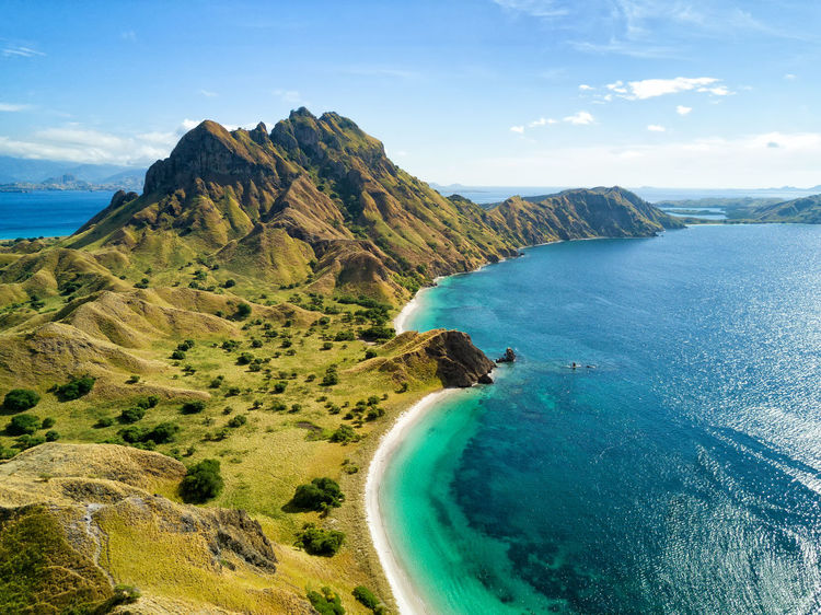 Aerial view of the northern part of Pulau Padar island in between Komodo and Rinca Islands near Labuan Bajo in Indonesia. DJI X Eyeem DJI Mavic Pro Dragon Flores Island INDONESIA National Park Tourist Travel Travel Photography Aerial Aerial Photography Aerial View Destination Dji East Nusa Tenggara Flores Komodo Labuan Bajo Landscape Padar Pulau Rinca Tourism Tropical Vacation