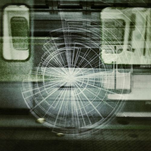 Double Exposure commute + DecoSketch overlay, v.2 Double Exposure Droidography DroidEdit Decosketch Transit Sport