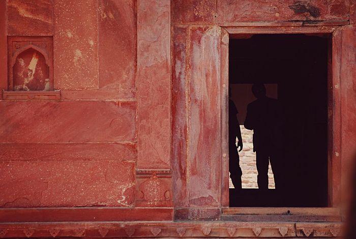 Color Palette India Fatehpursikri Travel Silhouette