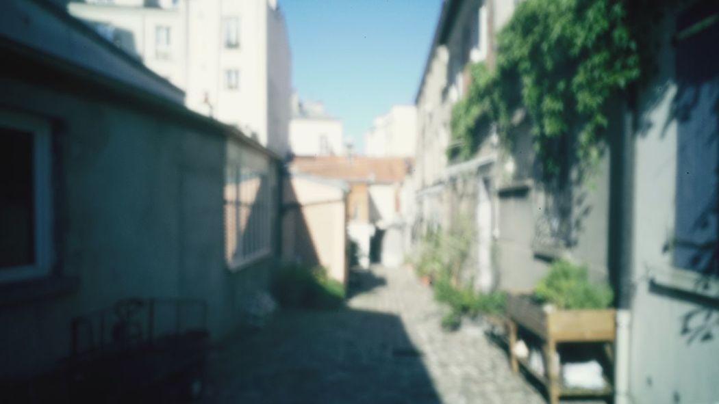 Pinhole Pinhole Camera Blurry Sunny