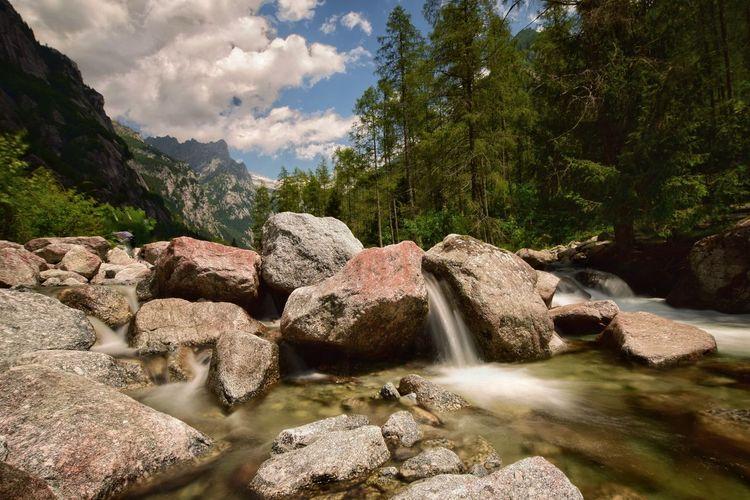 Photo taken in Val Masino, Italy