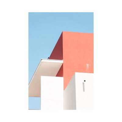 Built Structure Architecture No People Building Exterior Red Blue Day Abstract Fine Art Photography Contemporary Art Photography Geometric Shape Graphic Minimalism City Natural Light Light And Shadow