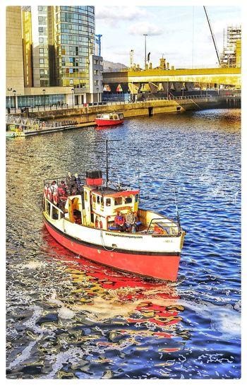 Nautical Vessel Waterfront City River Boat Boats⛵️ Belfast Lagan Riverlagan Belfastdocks