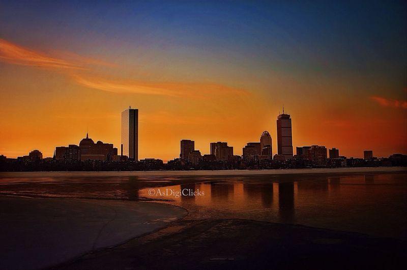 Beautiful Sunrise at Charles River, Boston Taking Photos River View Sunrise Boston london