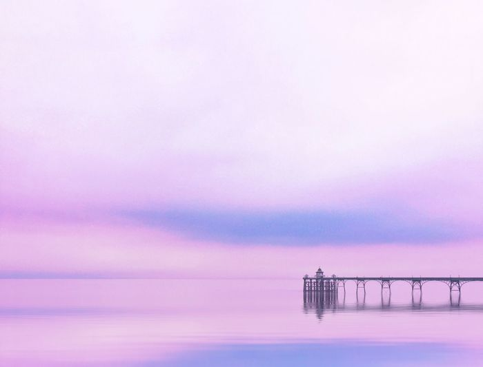 All is calm EyeEm Best Shots Candy Nature_collection Eyeemmarket Victorian Architecture Victorian Candyminimal Sky Cloud - Sky Sunset Beauty In Nature Scenics - Nature Purple Nature Architecture Water Romantic Sky Tranquil Scene No People Pink Color Outdoors Tranquility Sea