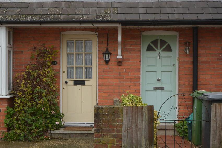 Pastel Power Doors Neighbourhood Brick Houses Learn & Shoot: Balancing Elements Here Belongs To Me The Architect - 2016 EyeEm Awards The Street Photographer - 2016 EyeEm Awards
