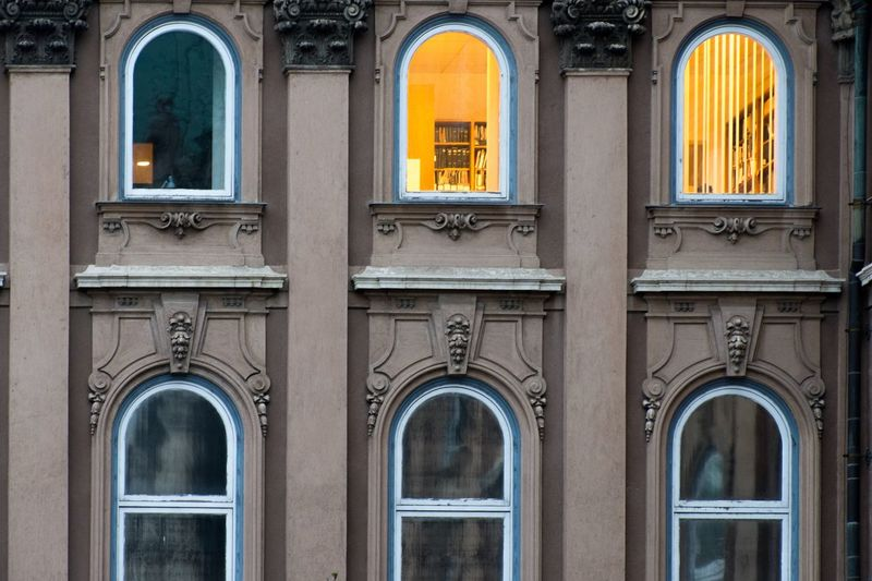 EyeEm Selects Architecture Built Structure Building Exterior Arch Window Building No People Glass - Material Outdoors City Side By Side Residential District History