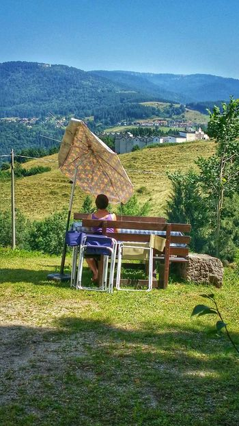 """""""No inclined table, no unstable seat, and no damaged sun umbrella will ruin my perfect vacation day"""", Asiago Highland, Vicenza, Italy Travel Traveling Italy Asiago Photography Art Fineart Short Story"""