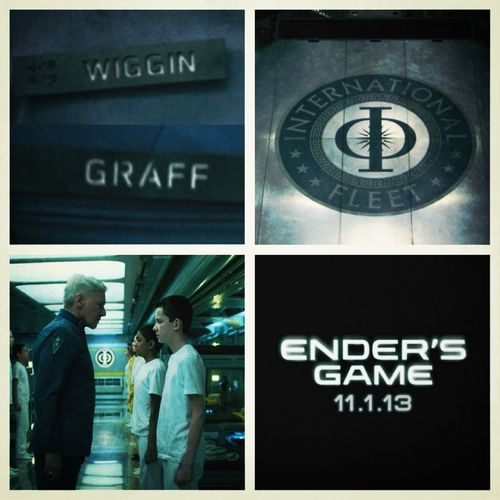 So ready for Enders Game! 2013!