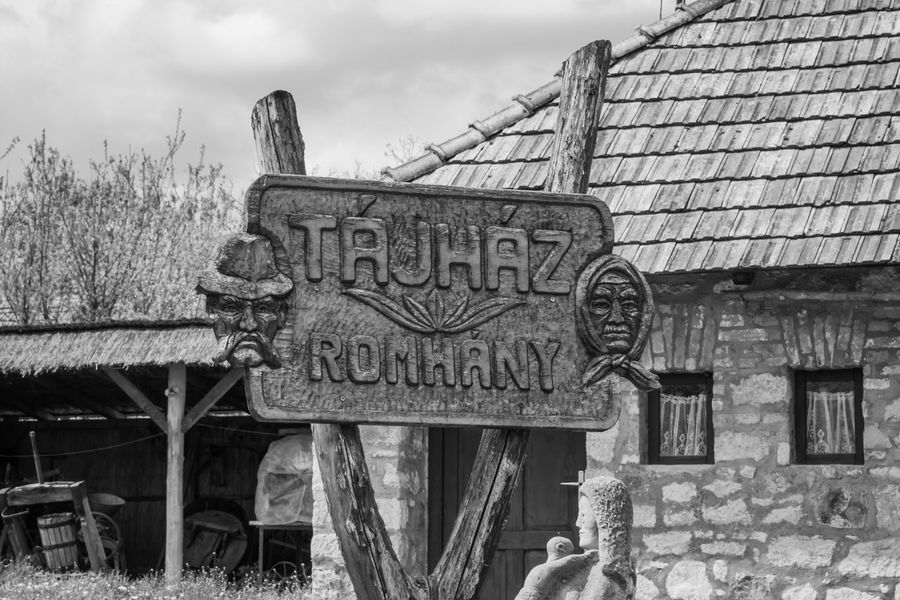 Text Western Script Communication Day Outdoors No People Architecture Built Structure Building Exterior Abandoned Sky Close-up Kéktúra Hungary