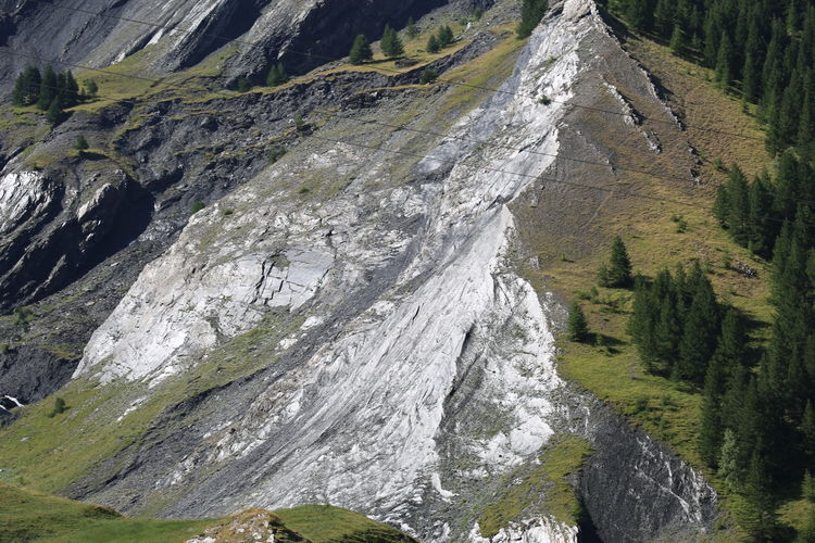 Aerial view of mountain