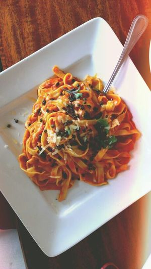 Yummy Food Lunch Time! Pasta