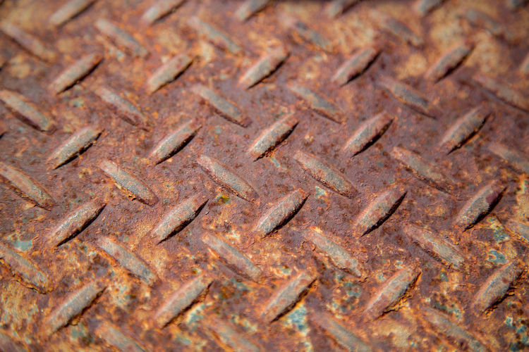 Full frame shot of rusty