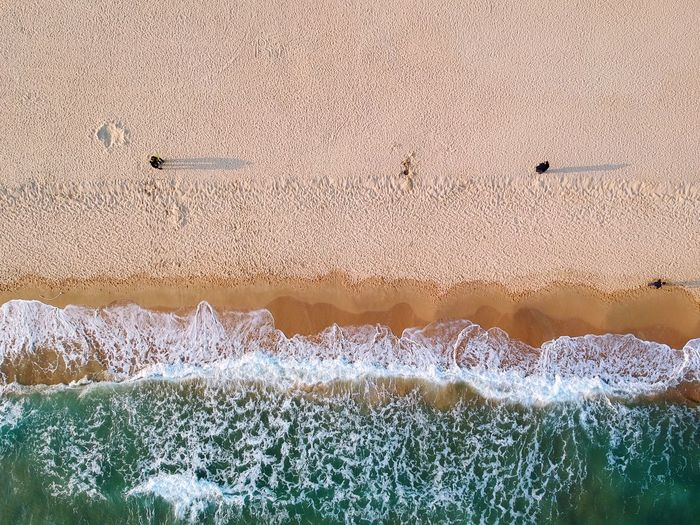 Drone  Aerial View Colors Wave Lines Shadow EyeEm Nature Lover EyeEm Best Shots Nature Photography Beach Sand Sea Nature Full Frame Backgrounds Beauty In Nature Day Scenics Outdoors Go Higher