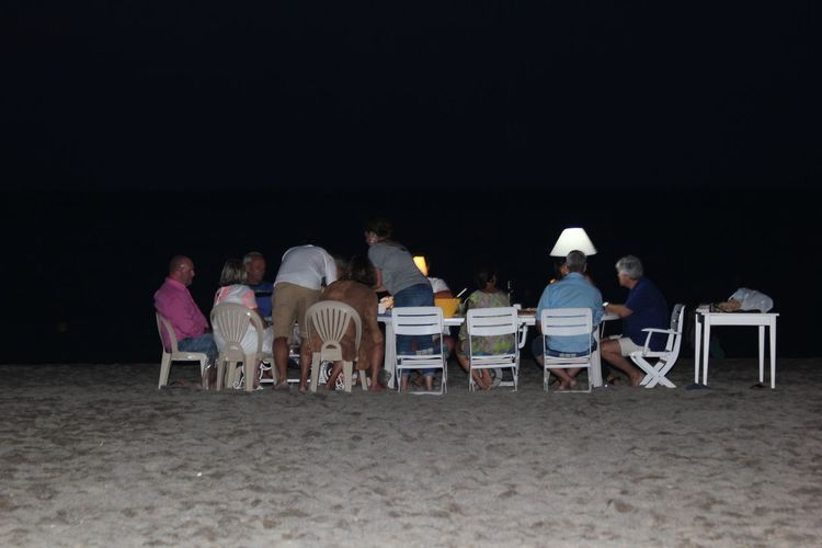 Learn & Shoot: After Dark Beach Sea Dinner Dinner Time Relaxing Friends Dining On The Beach Sand Evening Dark People