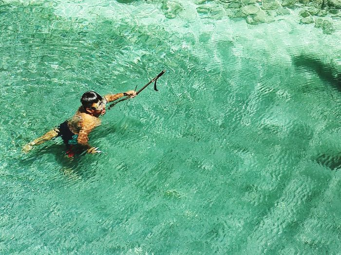 Spearfishing Spear Spearfish Fishing INDONESIA Travel Indonesia Snorkeling Ocean Color Palette
