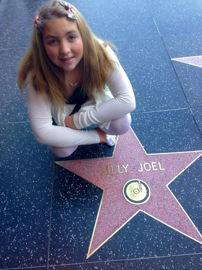 Young Adult Billy Joel Walk Of Fame Hollywood Portrait