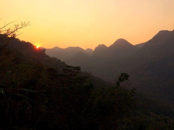 Sunset Mountain Mountains Landscape Landscape_photography Chiang Mai   Thailand Chiang Dao Doi Doi Luang, Chiang Dao