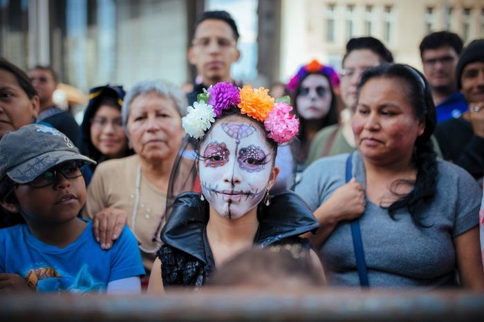 Catrina - Día de Muertos 2016 - Cdmx Mexico City Photography Catrina Mexico Tradition Real People Girl Headshot Crowd Young Adult Close-up People Outdoors Street Portrait