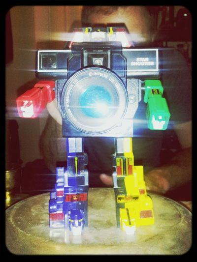 @photobrowne Voltron Camera Toys Vintage