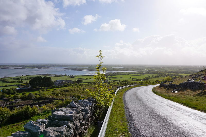 Beauty In Nature Connemara Connemara National Park Grass Ireland Ireland🍀 Landscape Nature No People Outdoors Road Scenics Sky The Way Forward Tranquil Scene Tranquility Tree Water