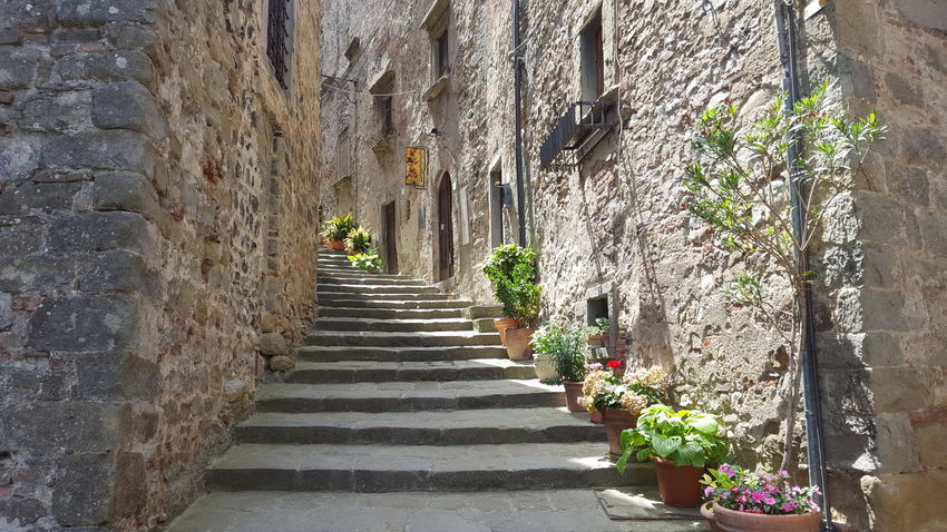 Steps Symetry Architecture Building Exterior Built Structure Climbing Day Medieval No People Outdoors Shadow Walkway