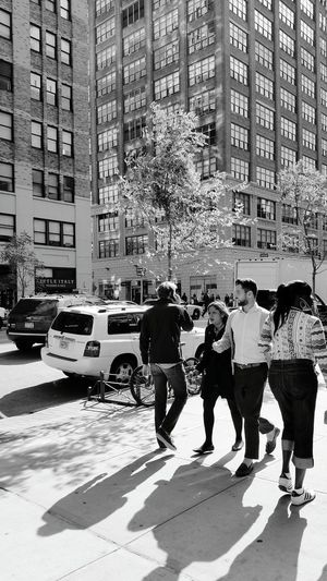 B&w Street Photography NYC Photography Street Photography Popular EyeEm Gallery Popular Photos Street Walking Cold Sunny Day Shadows The Following People Together Battle Of The Cities People And Places Dramatic Angles The City Light The Graphic City This Is Masculinity Stories From The City