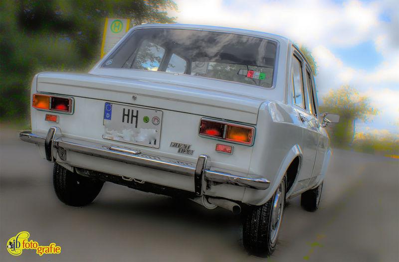 FIAT 128 Heckansichten Day Land Vehicle No People Oldie  Outdoors Sky Transportation