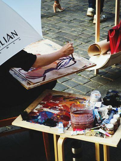 Artist, picture Artist Creativity Art Studio Only Women Day