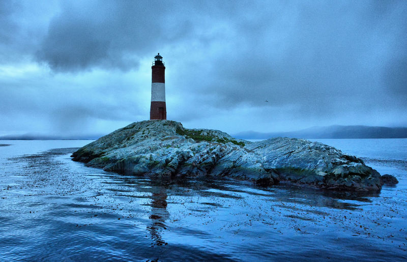 Faro Ushuaia Argentina Les Eclaireurs Lighthouse Scenery_collection Scenics - Nature Ushuaia Paisaje
