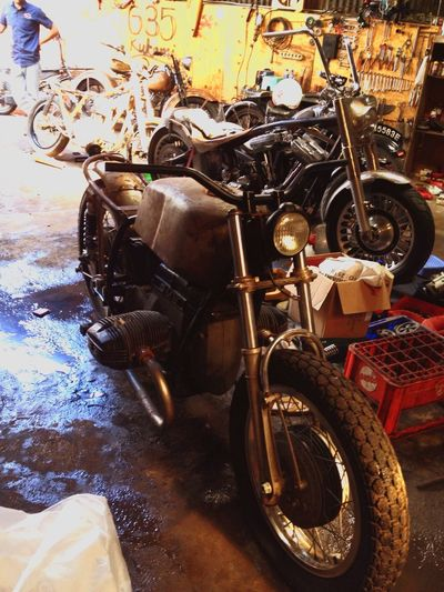 Work On Progress Bmw R70 Cafe Racer Gentlemansride 35 Garage Enjoying Life Custom Classic Motorcycles Bandung, West Java INDONESIA