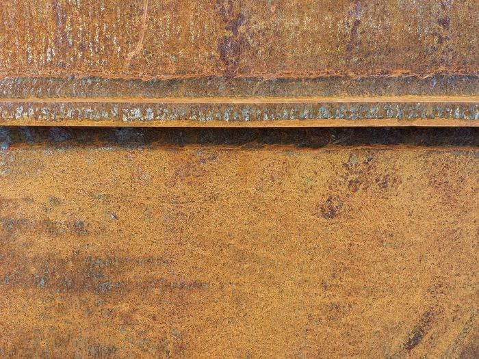 Corten Steel Steel Structure  Backgrounds Full Frame Textured  Pattern Close-up No People Day Outdoors Orange Brown