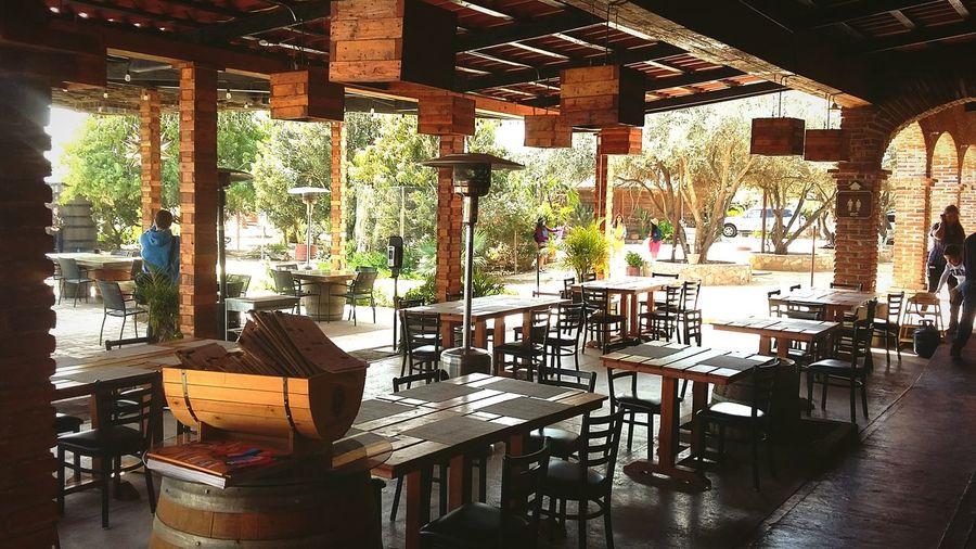 Rustic. ValleDeGuadalupe Baronbalches Rutadelvino Baja California Rustic Style Rustic Wood - Material Wood Exterior Design Exterior Chair Table Bar