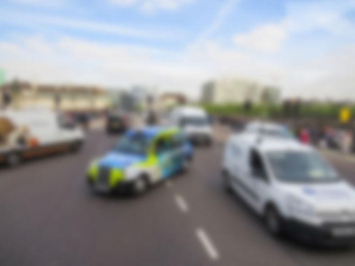 blur traffic background