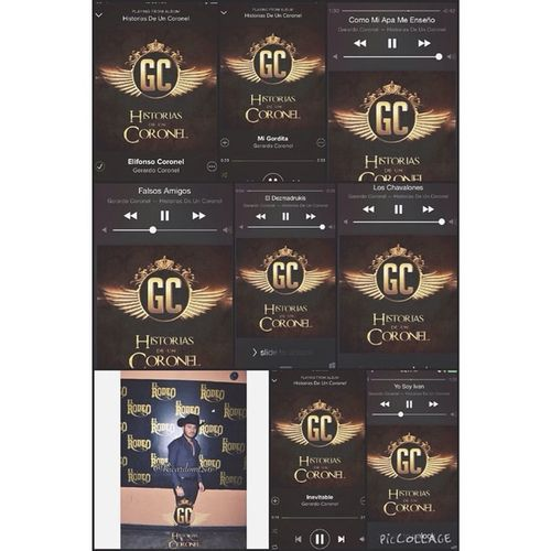 """Mi Favoritas Canciones de Nuevo CD """"Historias De Un Coronel"""" de @gerardocoronel 🎶💙👌! Felicidades a @gerardocoronel por su nuevo Cd que ya salió en ITunes, Pandora, y Spotify para qué vaya a escuchar su Nuevo CD """"Historias De Un Coronel 👊💯! Saludos a @gerardocoronel por su CD Nuevo """"Historias De Un Coronel"""" 🎤🎶💯👊! Historias De Un Coronel - 1. Elifonso Coronel 2. Mi Gordita 3. Como Mi Apa Me Enseño 4. Falsos Amigos 5. El Dezmadrukis 6. Yo Soy Ivan 7. Los Chavalones 8. Inevitable 9. Te Quiero A Morir 🎶🎤💯✌️👌👊! HistoriasDeUnCoronel 💿🎶💯 Saludos @gerardocoronel ✌️💯 Dec19 2014 👌 Itunes Pandora Spotify 👊 NuevoCD ElifonsoCoronel TeQuieroAMorir LosChavalones Inevitable YoSoyIvan FalsosAmigos ElDezmadrukis Migordita ComoMiApaEnseno @gerardocoronel @gerardocoronel @gerardocoronel 🎶🎤💿👌💯 Puro TwiinsMusicGroup 🔴⚫️👊 TwiinsCuliacan 💯👊"""