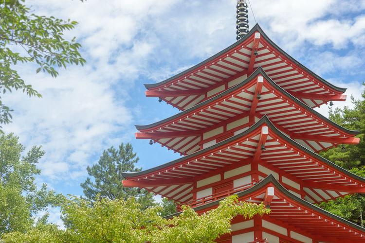 Red pagoda,