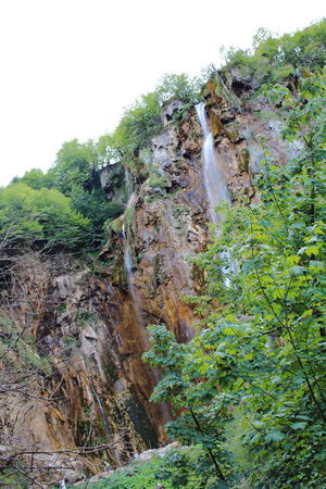 Croatia Djmarcop Trip Outdoors Beauty In Nature No People Plant Forest Day Sky Nature Waterfall Tree Cliff